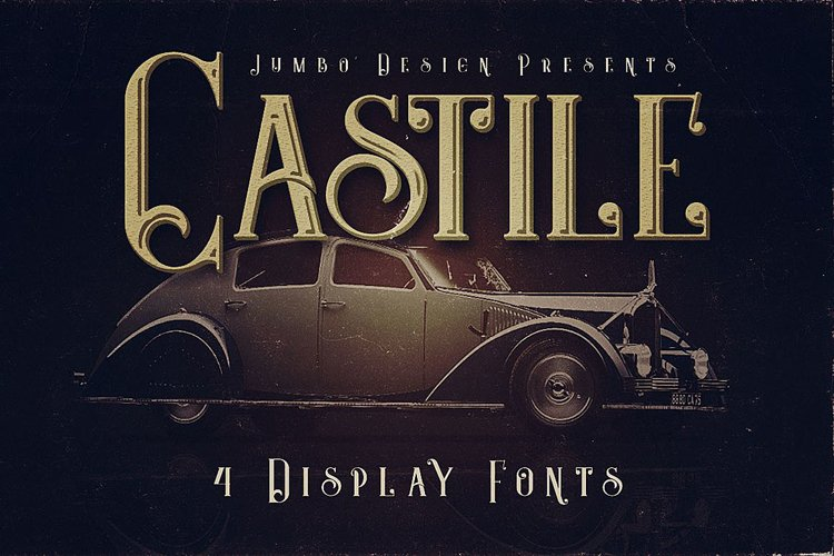 Castile - Display Font example image 1