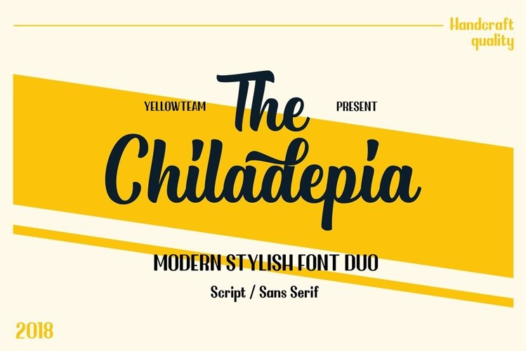Chiladepia - Font Duo example image 1