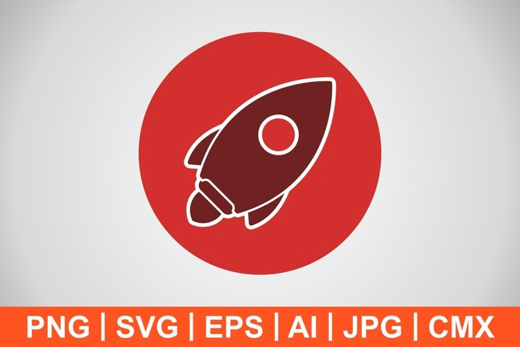Vector Launch Icon example image 1