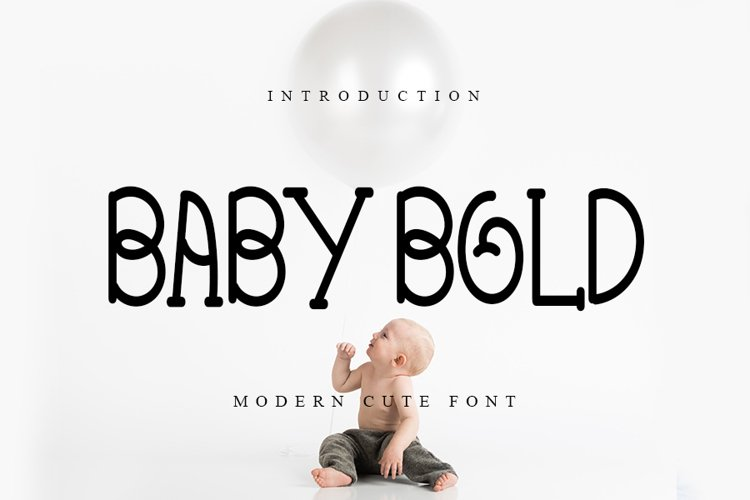 BABY BOLD example image 1