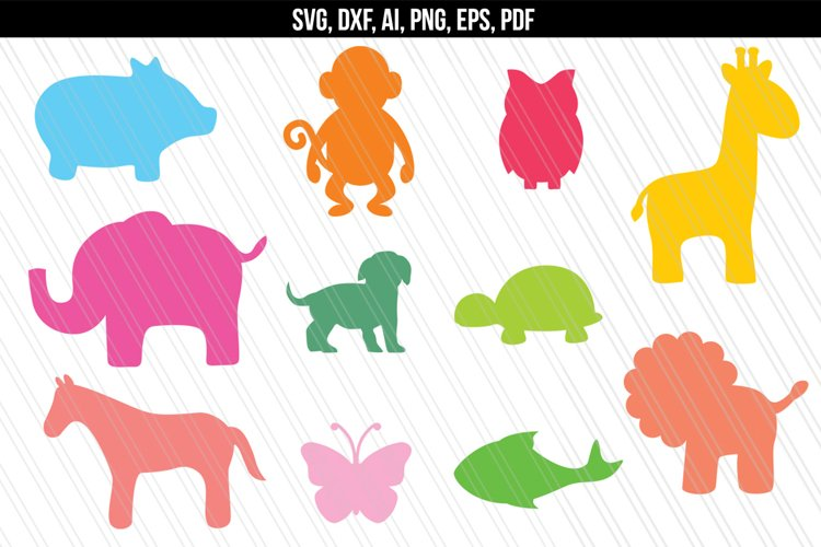 Zoo Animals SVG, Baby Animals Jungle SVG