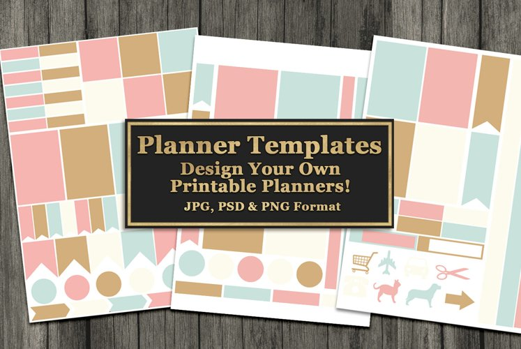 Printable Planner Templates example image 1