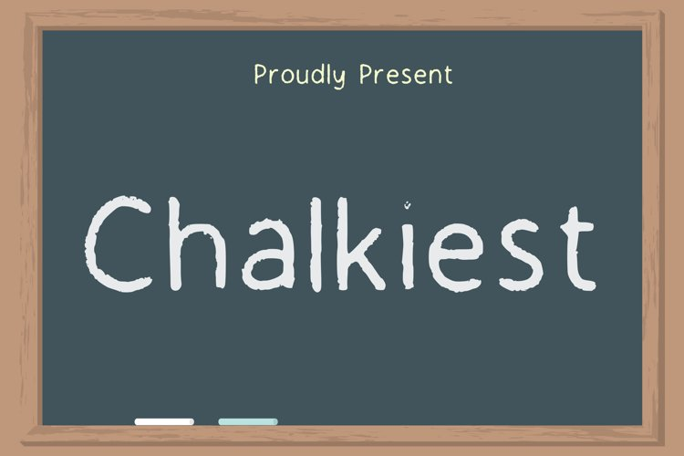 Chalkiest Font example image 1