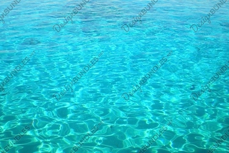 The azure waters lagoon of the Red Sea in Egypt example image 1