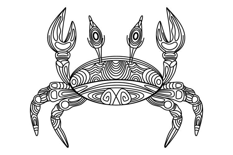 Crab illustration example image 1