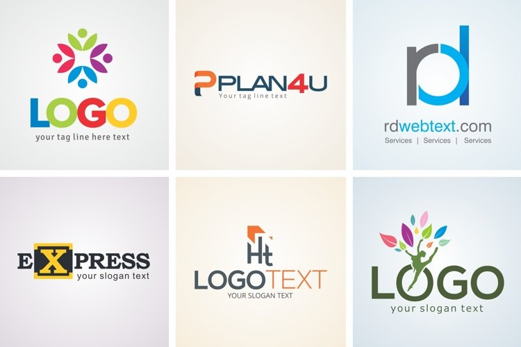 Creative Logo Design Template Set 20 example image 1