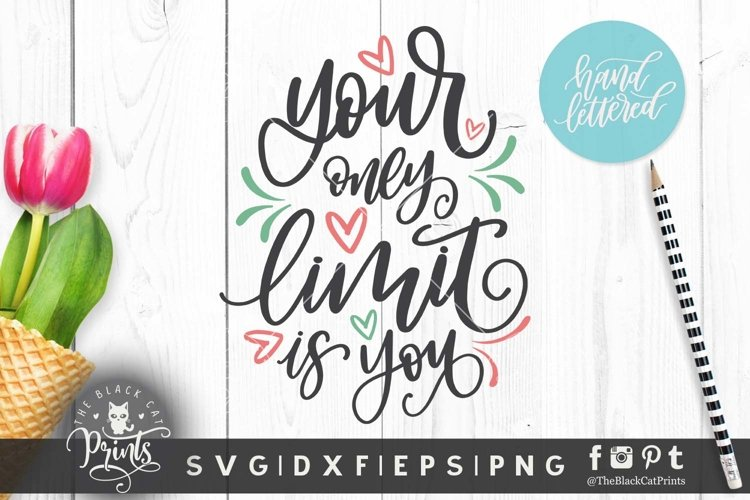 Your only limit is you SVG DXF EPS, Hand lettered cut files