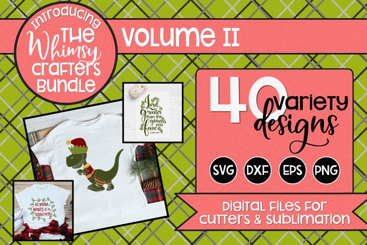Whimsy Crafters Bundle Volume 2 SVG DXF PNG EPS