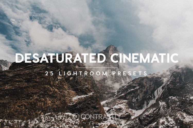 Desaturated Cinematic Lightroom Presets example image 1