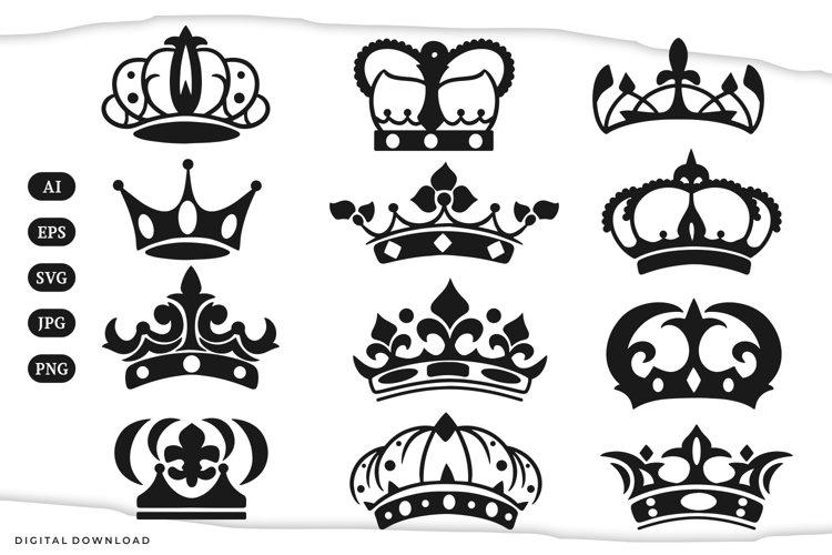 Crown Illustrations | svg