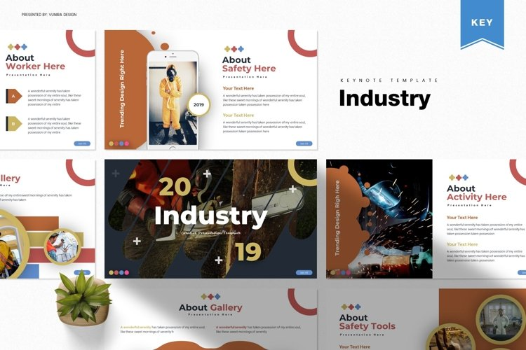 Industry | Powerpoint, Keynote, Google Slides Template example image 1