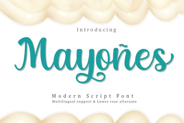 Mayones example image 1