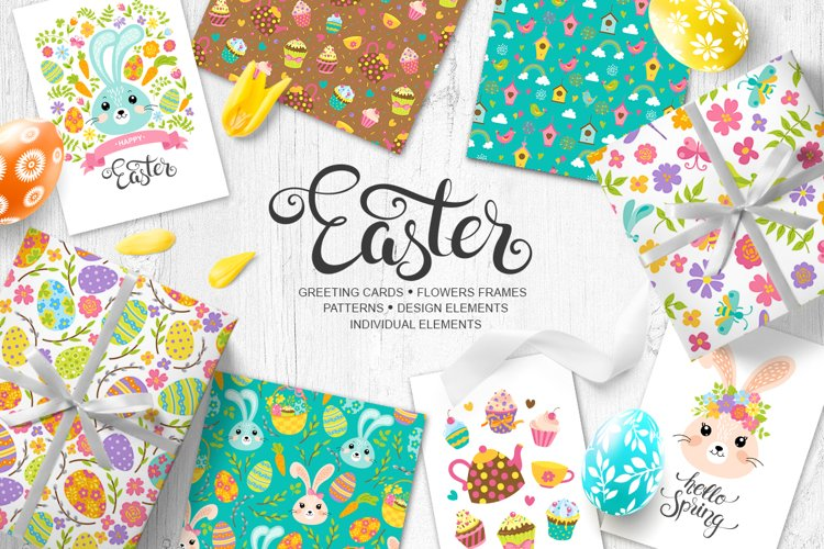 Easter vector collection example image 1