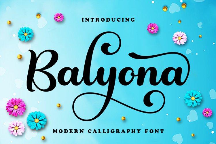 Balyona example image 1
