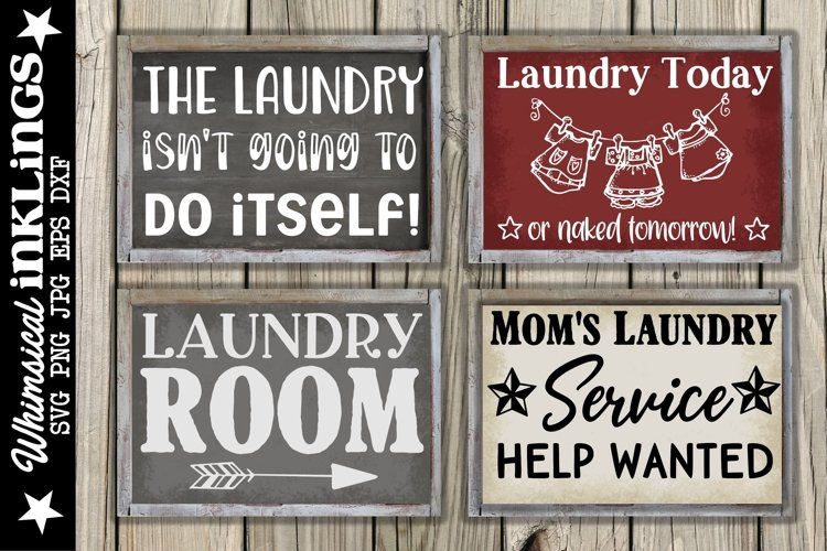 The Laundry Room SVG Set