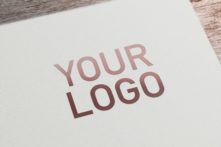 Card Logo Mockup example image 1