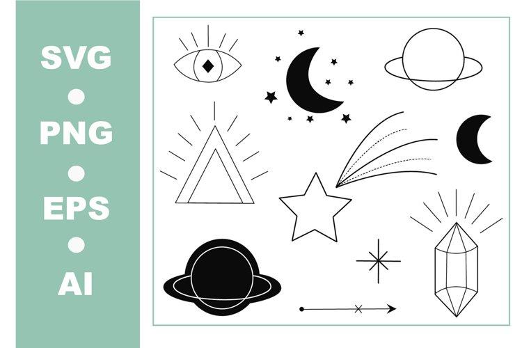 Space SVG Bundle  Space elements