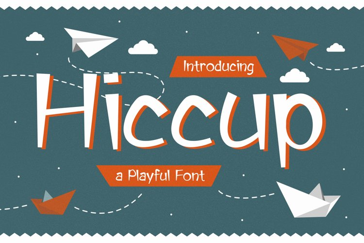 Hiccup - Adorable Playful Font example image 1