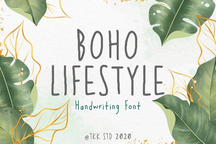 Boho Lifestyle - Handwriting Font example image 1