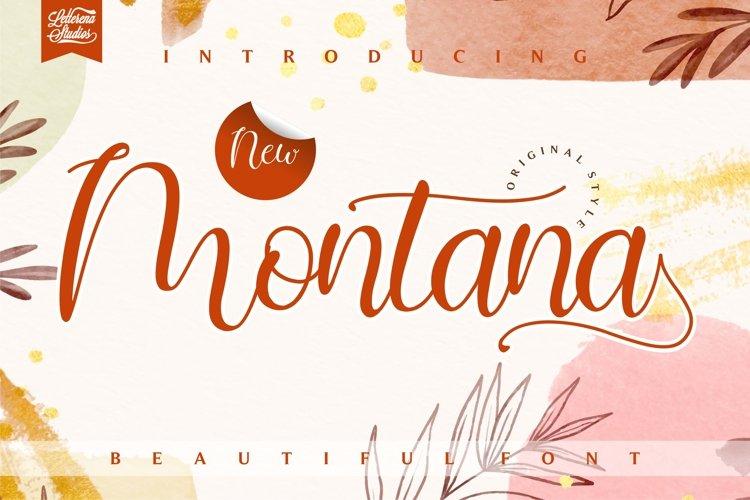 Montana - BeautifulFont example image 1