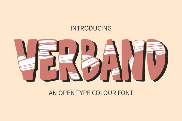Verband Colour Font example image 1