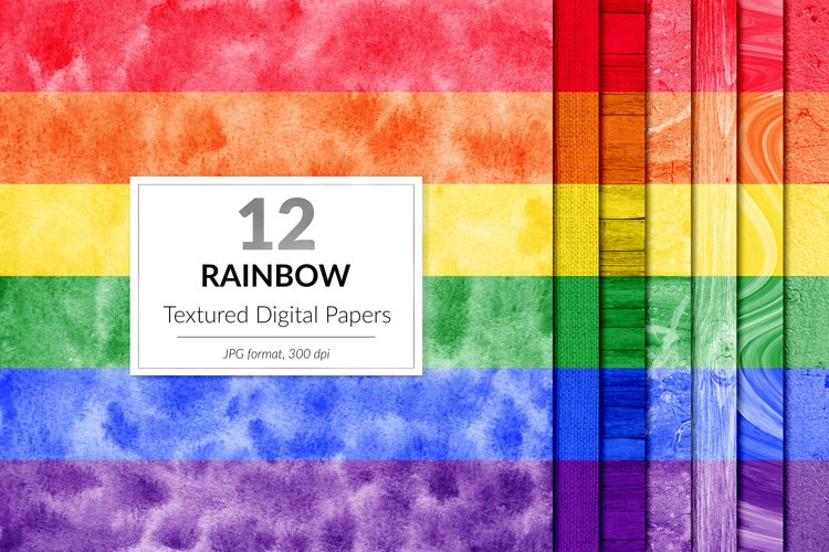 Rainbow Backgrounds example image 1