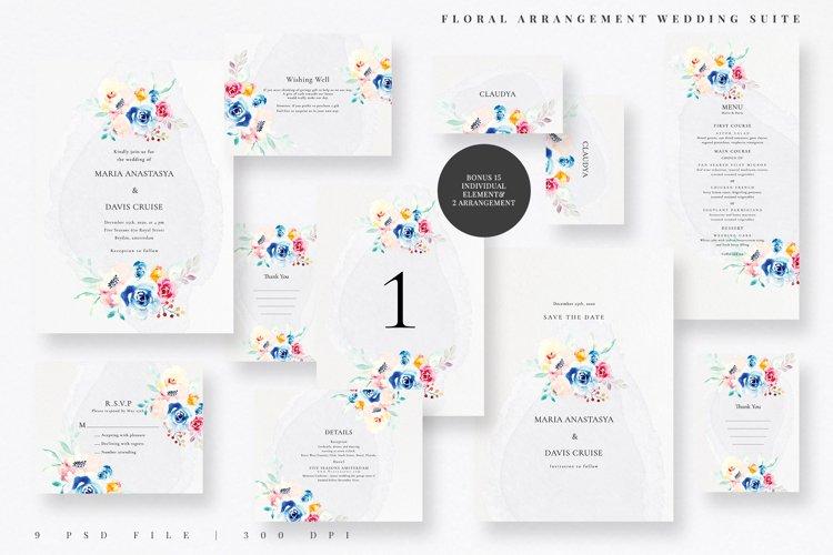Floral Arrangement Wedding Suite