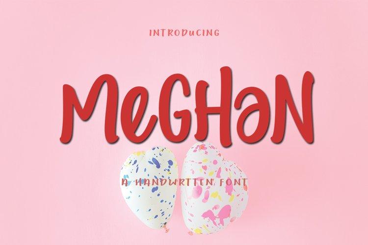 Meghan Display I WEB FONT