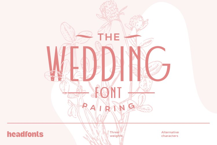 Wedding Font Pairing example image 1
