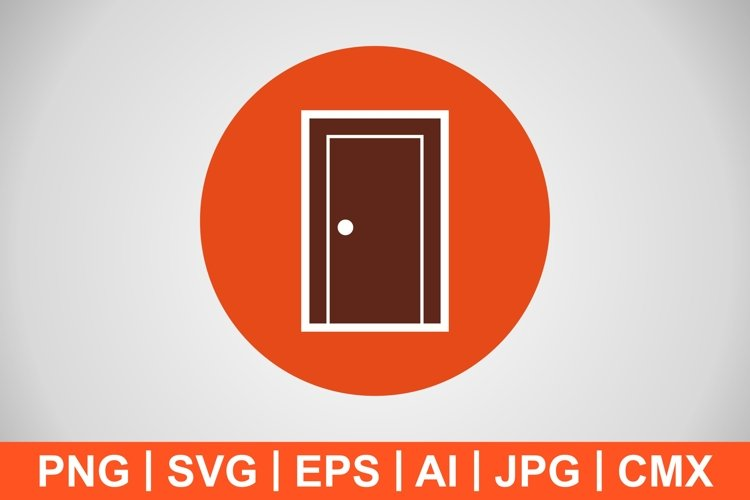 Vector Door Icon example image 1