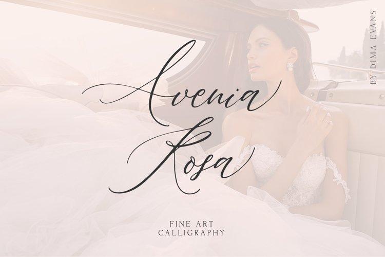 AVENIA FINE ART CALLIGRAPHY example image 1
