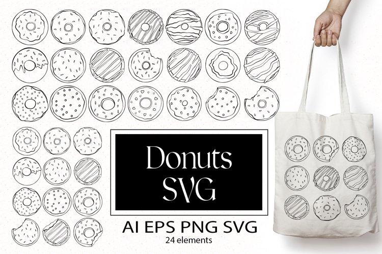 Donuts SVG