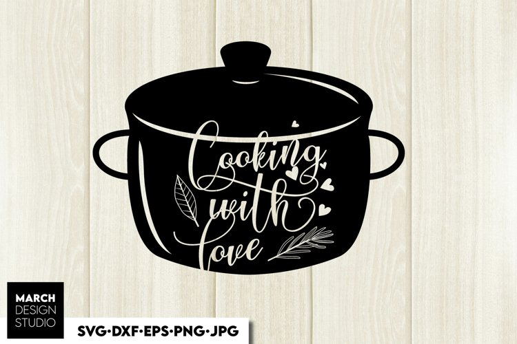 Kitchen SVG, Kitchen Quotes SVG, Kitcen decor SVG, Bless svg example image 1
