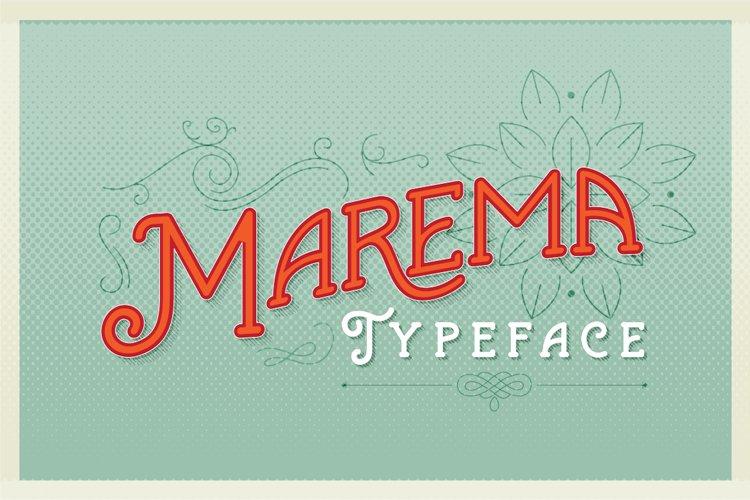 Marema Typeface example image 1