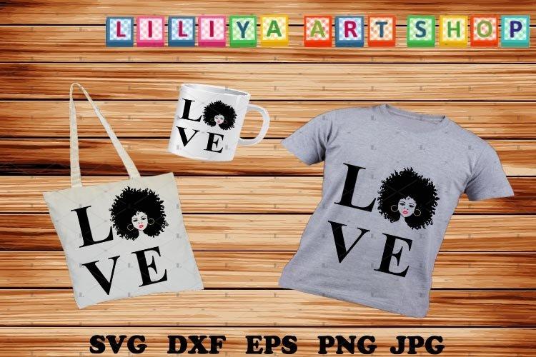 Love Africa svg,Afro woman svg,Black history svg,Black woman