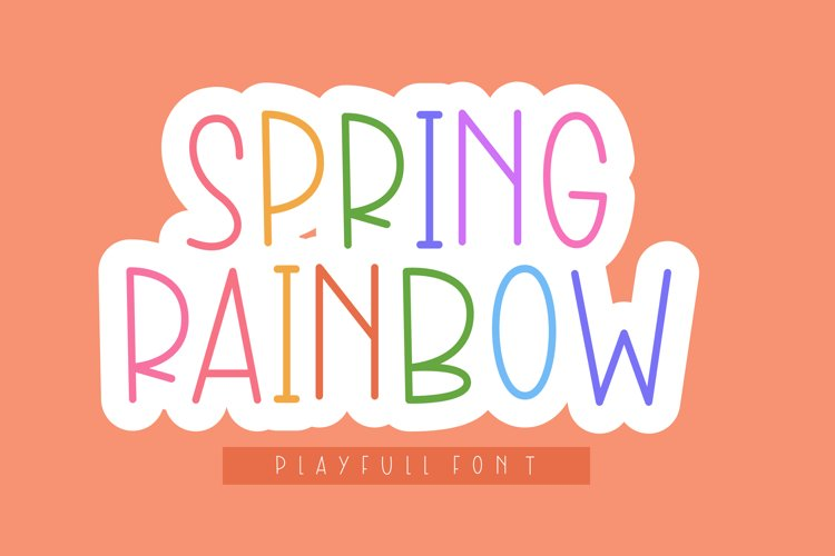Spring Rainbow example image 1