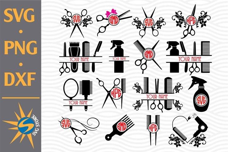 Download Hairdresser Monogram Svg Png Dxf Digital Files Include 755414 Cut Files Design Bundles