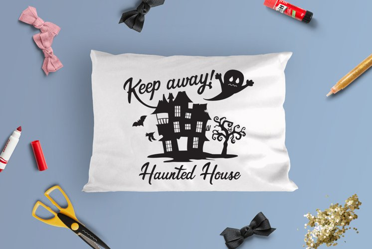 Haunted House Halloween SVG Cut File