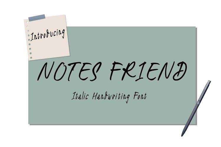 Notes Friend