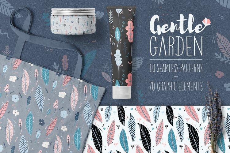 Gentle Garden Patterns & Elements
