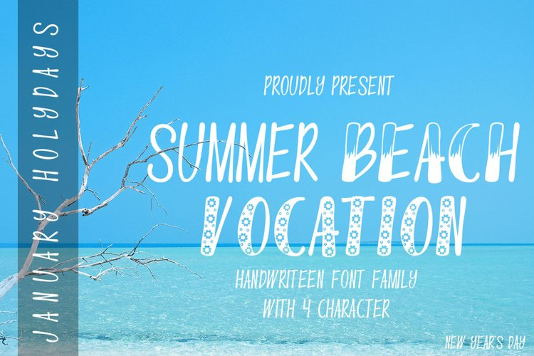 Summer Beach Vocation example image 1