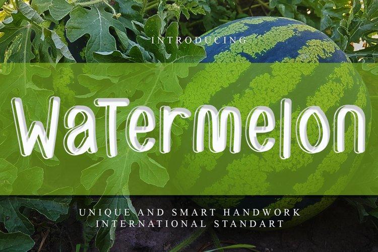 Watermelon example image 1