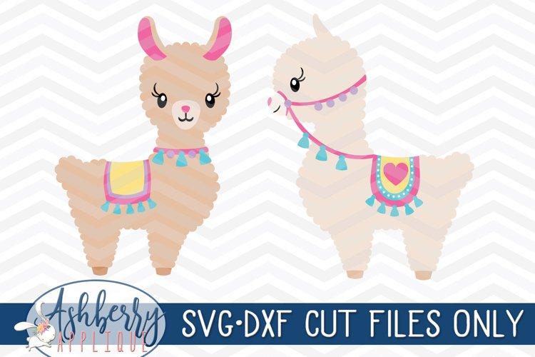 Llama SVG/DXF Cut File Set