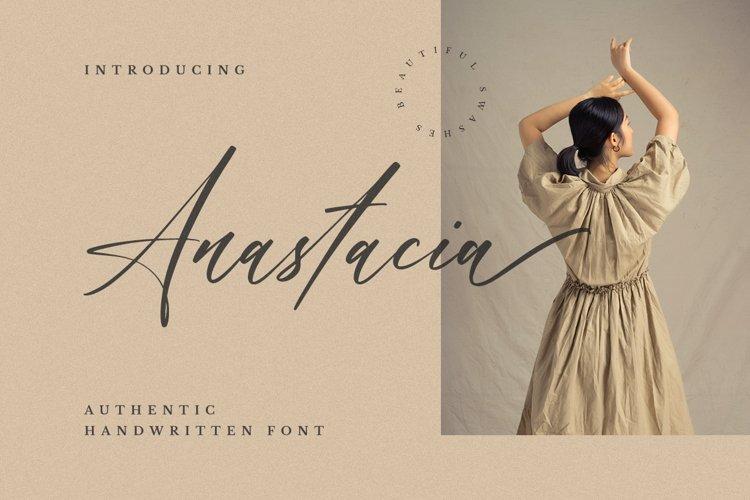 Anastacia - Handwritten Font example image 1