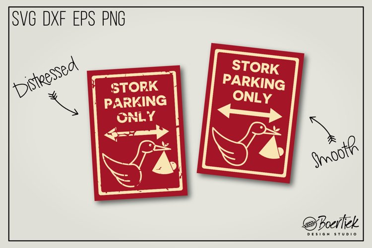 Stork parking only