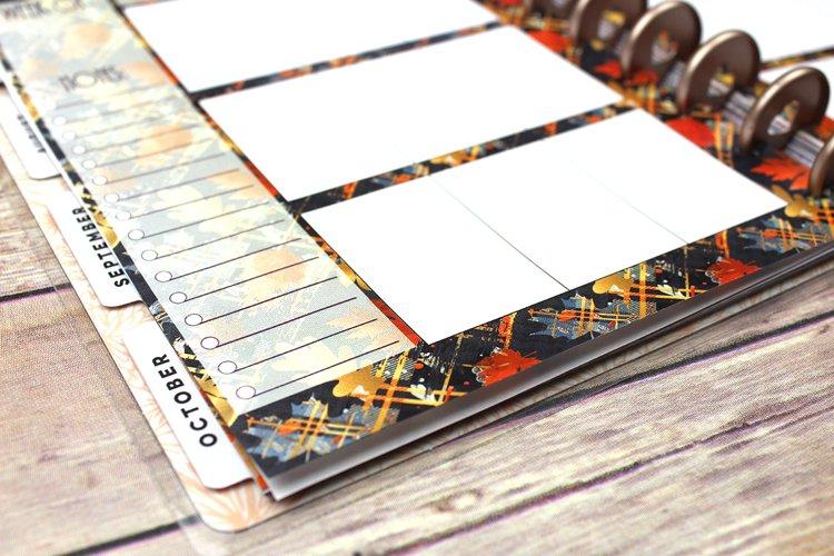 Happy Planner PRINTABLE, Weekly Insert Refill, Fall, Plaid, Printable, Planner Printable, 7 x 9.25, Mambi Happy Planner