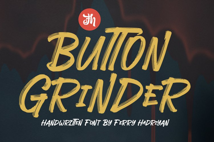 Button Grinder - Display Font example image 1