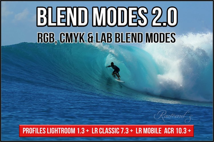 Blend Modes Profiles LR 7.3 ACR 10.3 v2.0