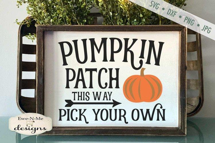 Pumpkin Patch | Farmhouse | Autumn Fall SVG example image 1