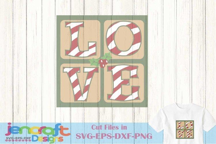 Christmas Love svg, Mistletoe Christmas svg example image 1